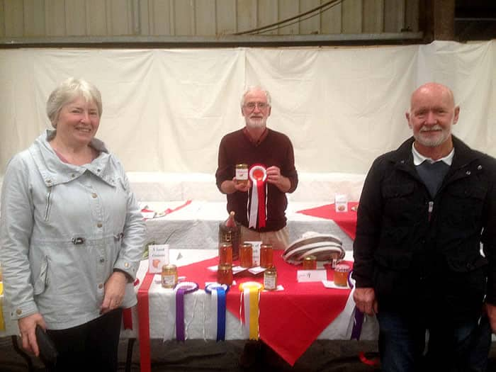 Ita O'Reilly, Patsy Cahalan and Ian Speirs (Tribes Beekeepers)